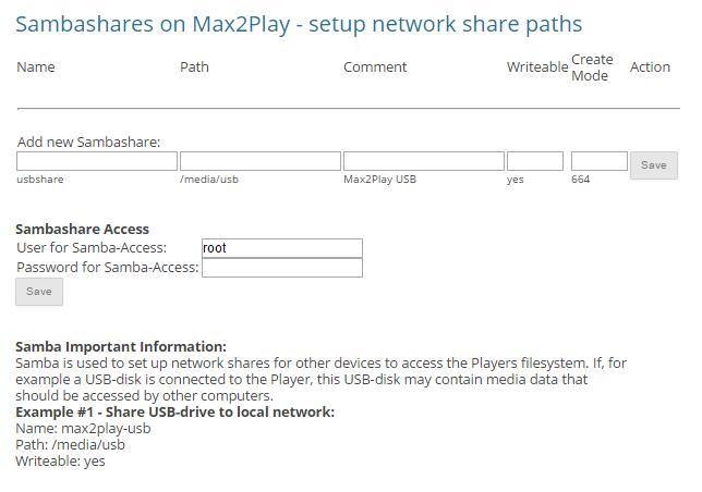 Filesystem Mount | Max2Play