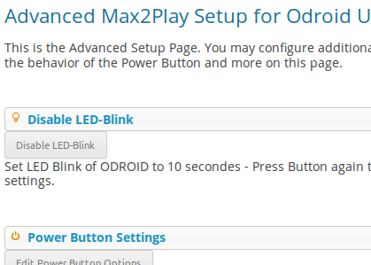Plugin Advanced ODROID U3 Setup