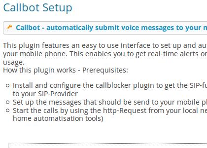 Plugin Anruferbot
