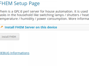 Plugin FHEM Server