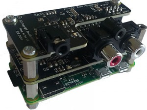 Raspberry Pi Zero with IQAudIO DAC