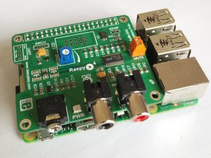 Support of the RaspyPlay4 Soundcard for RaspberryPi 2 & 3