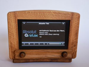 Micha65's Home Made Retro Oaken Radio with Raspberry Pi and Squeezebox Server
