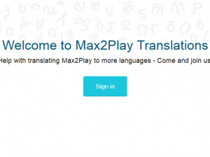 Community Projekt: Beteilige dich an der Übersetzung des Max2Play Interface!