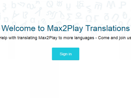 Community Project: Participate in the Translation of Max2Play's Interface!