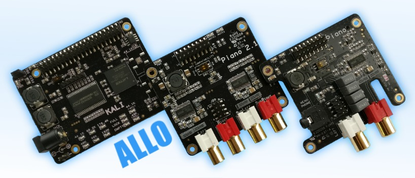 Plugin Allo sound cards