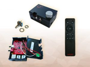 Easy control with Rotary Encoder and IR Remote