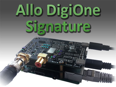 New Sound Card DigiOne Signature and Cases for Allo Products Out Now!