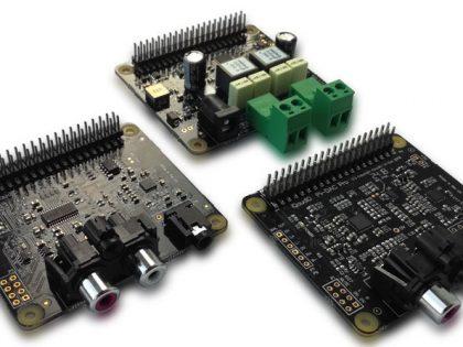 Neue IQaudIO Soundkarten: Pi-DAC+, Pi-DigiAmp+ und Pi-DAC+ Pro