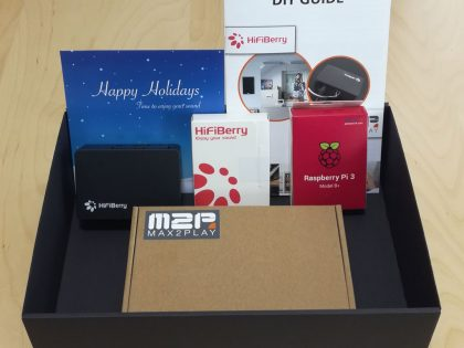 HiFiBerry Holiday Box