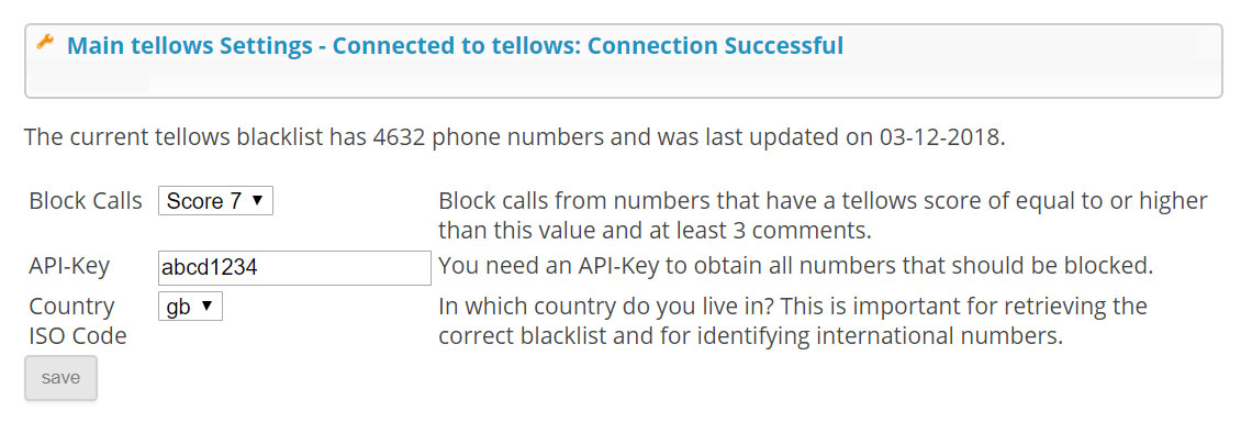 HowTo - Call Blocker with tellows and Max2Play   Max2Play