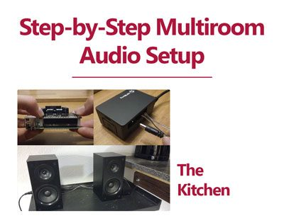 Step-by-Step Multiroom Audio Setup with Max2Play – The Kitchen