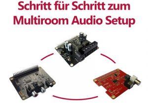 Budget Multiroom Audio Setup mit Max2Play