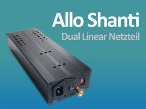 Allo Shanti – lineares Dualnetzteil für Rasberry Pi