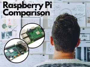 Raspberry Pi 3B+ and Pi 4B in comparison